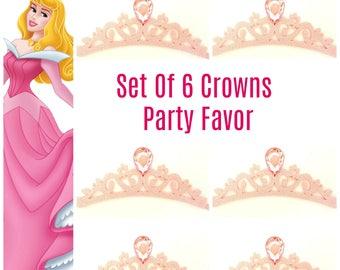 Princess Party Favor Tiara, Princess party, Princess Birthday Party ,PRINCESS Crowns PARTY FAVORS, Crowns Party Favors,Princess Aurora crown