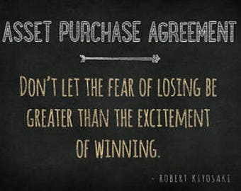 Asset Purchase Agreement