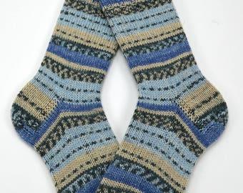 hand knitted socks, wool socks, handmade socks, women socks, warm winter socks, ladies socks, warm socks , UK 6,5-7,5  US 8-9