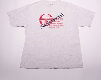 Vintage Sergio Tacchini 90s Italian Tshirt