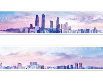 Good morning City washi tape