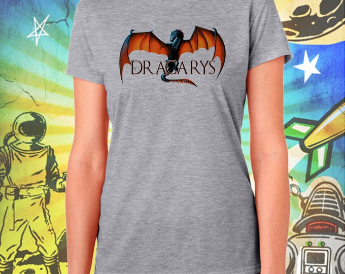 Game of Thrones / DRACARYS / Mother of Dragons / Women's Gray Performance T-Shirt
