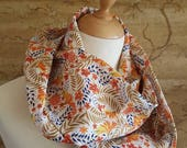 Liberty Linen Gold Infinity Scarf