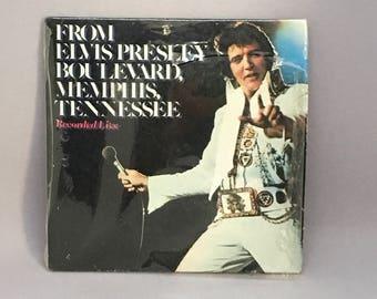 Chu-Bops Elvis #46-Elvis-From Elvis Presley Boulevard, Memphis, Tennessee