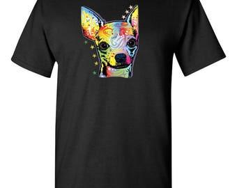 Men's Chihuahua Neon t-shirt