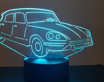 Lamp 3D pattern: Citroen DS