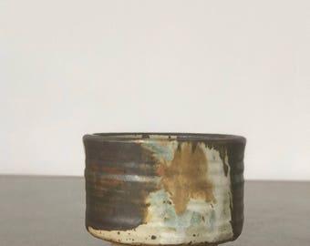 Studio Pottery Chawan Tea Bowl by Ralph and Lorene Spencer