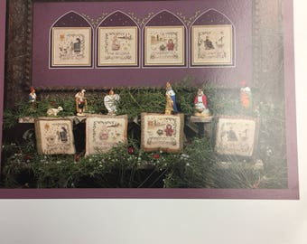 2000 Years Ago Counted Cross Stitch Pattern by Shepherd's Bush Fiber Art Christmas Story