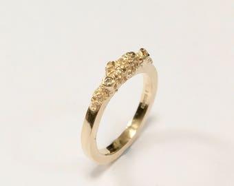 IDUNN 9CT Gold Growth Ring