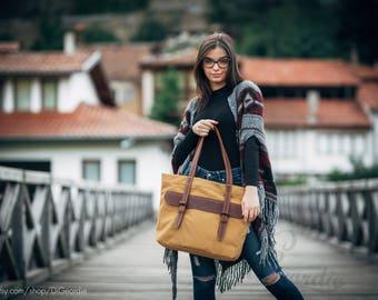 school leather tote bag waxed canvas bag for women handbag canvas leather tote big bag women everyday bag canvas tote bag shoulder bag navy