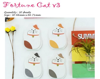 Fortune Cat v3 Post IT Notes Sticky Memo