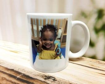 Photo Mugs, Custom Mugs, Personalized Mug, Personalized Coffee Mugs, Picture Mugs, New Dad Gift, Gifts for Dad, Coffee Mug, Fathers Day