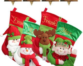 Personalised 3D Stocking and Hanger Value Pack