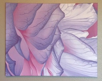 Abstract Flower - Oil Painting