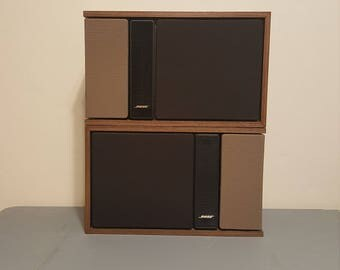 Vintage Bose 301 series II Speakers