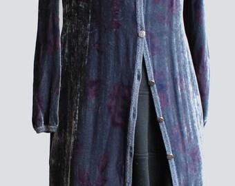 Emanuel Ungaro dress  velvet