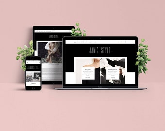 Janice WordPress Theme - Responsive Blog & Magazine Template