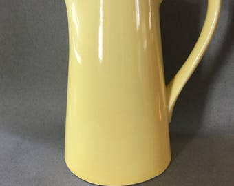 Cameron Clay Yellow Scandia Pitcher-USA Mark 1960's