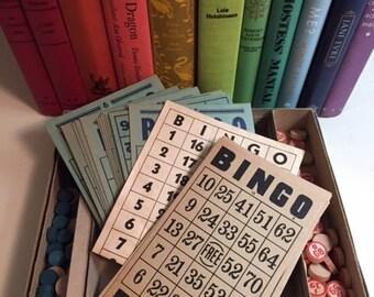 Vintage Bingo Board Game Set