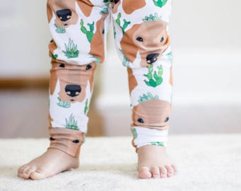Handmade Baby Leggings - Vizsla Baby Leggings - Vizsla - Baby Leggings - Boy Leggings- Girl Leggings - Vizsla Gift - Dog Leggings - Vizslas