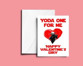 Star Wars Valentine Karte, Stars Wars Valentinstag, Valentinstag Karte,  Valentinstag