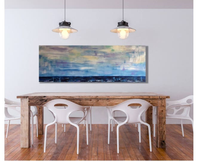Beach House Art, Nautical Artwork, Ocean Horizon, Los Cabos Redondo Venice Malibu Florida Keys California Outer Banks Miami Beach Art