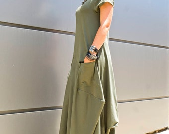 Plus Size Maxi Dress/ Women's Clothing/ Clothing for Women/ Caftan Maxi Dress/ Loose Dress/ Kaftan Maxi Dress/ Womens Dresses by YoLineXL