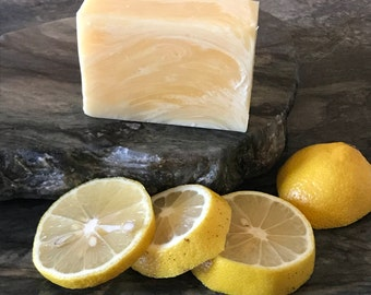 Lemongrass Bliss Soap Bar | Essential Oil | Handmade | Gift | Clean | Homemade | Bath | Shower | Relax | Refresh