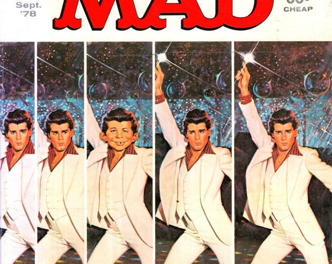 MAD Magazine #201 September 1978 Saturday Night Fever Movie Cover