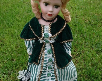 Adorable Vintage French Porcelain Doll