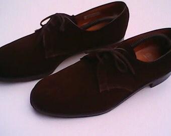 Suede Shoes By Wearra 1940s.