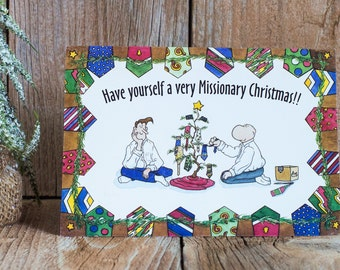 Missionary Christmas Card