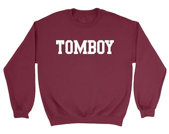 Tomboy Sweatshirt / Studio Young Tomboy Jumper /