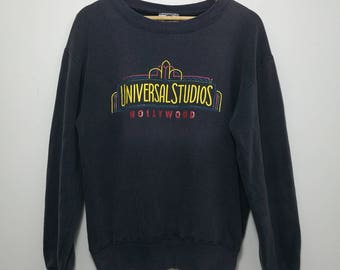 Vintage Universal Studios Big Spell Out Logo Sweatshirt