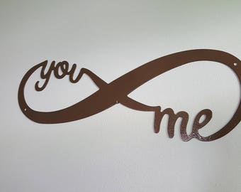 "Infinity ""You and Me"" - Wall Decoration"