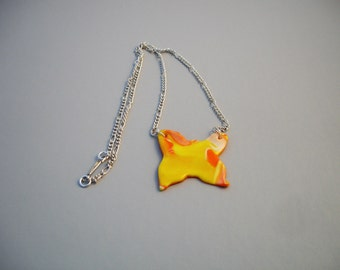 Wonky Butterfly Necklace