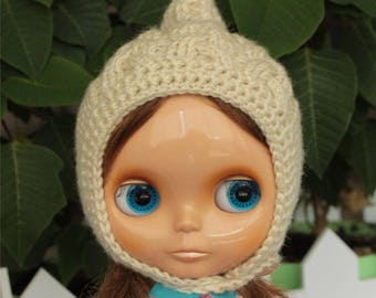 Blythe hat, helmet handmade