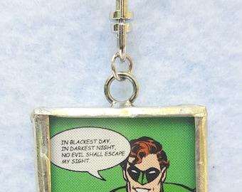 The Green Lantern Pendant
