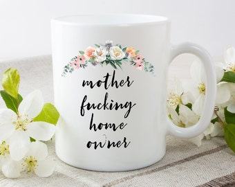 Moving Mug, Home Owner, Homeowner Mug, First Time Homeowner, First Home Mug, Moving In Together, First Home, New Home Gift, New Home Mug