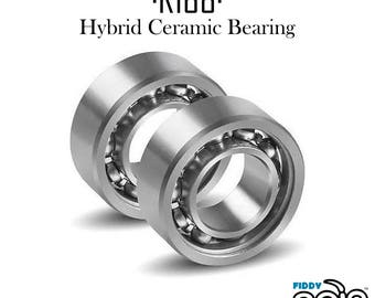 R188 Hybrid Ceramic Bearing Si3N4 Ball Bearing + SS Rings. Perfect for Spinners