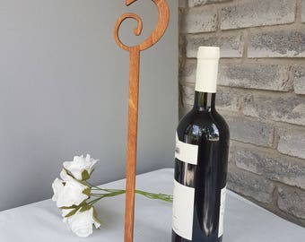 16 Inch Tall Wood Table Numbers