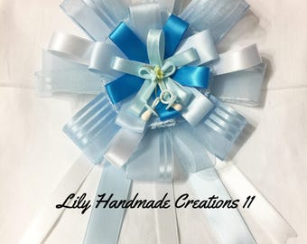Handmade Maternity Sash, Belly Sash, Babyshower table center pieces