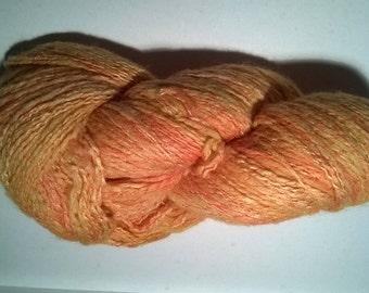Shine - silk and Merino hand spun skein