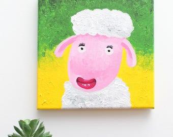 Little pinky sheep