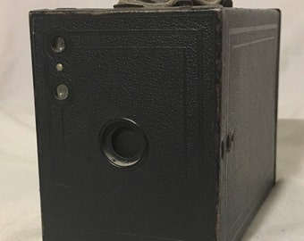 Vintage Kodak No. 2 Brownie Camera with film, Good Condition, No. 120 Film