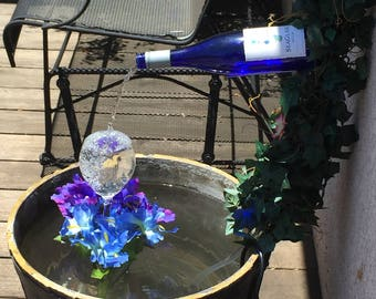 How to Make a Wine Bottle Fountain***Step-by-Step Instructions***