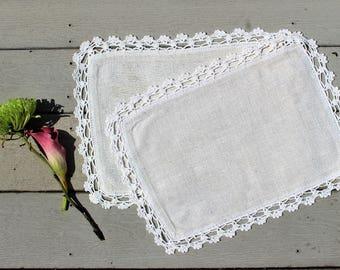 Handmade Linen Placemats