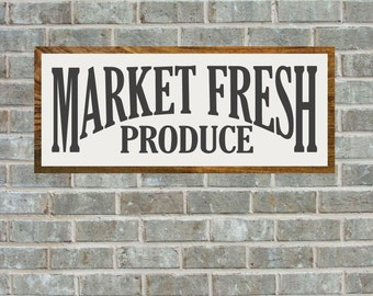 Farmers Market Sign, Magnolia Farms Vector, Fixer Upper, Market Fresh, Printable, Cuttable, SVG, Vinyl, Stencil, Print, Cut File, Vector