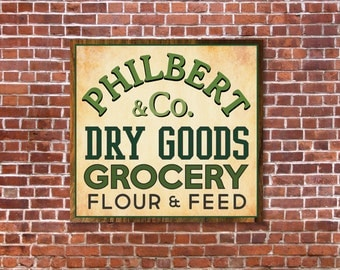 Vintage Groceries Sign, Magnolia Market SVG, Magnolia Farms SVG, Vector, DXF, Joanna Gaines, Cuttable, Print, Cut File, Silhouette Cameo