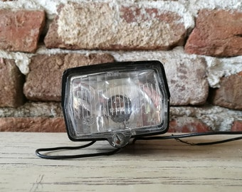 Bicycle light / Old lighthouse / Accessory bicycle / Bicycle headlight / Bicycle lamp / bicycle dynamo / Vintage light / Dynamo bicycle lamp